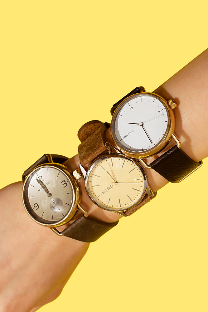 Watches in Yellow - Jewellery Story